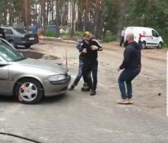 Задержан россиянин, атаковавший нардепа / Фото: Facebook/Виталий Куприй