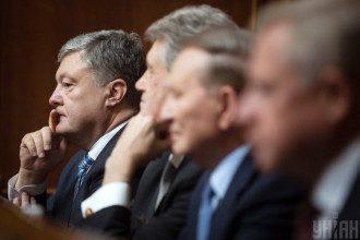 Петр Порошенко, Виктор Ющенко, Леонид Кучма