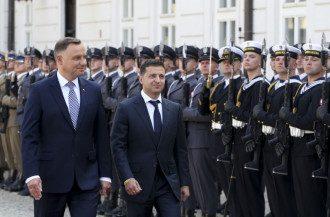 Владимир Зеленский, Анджей Дуда