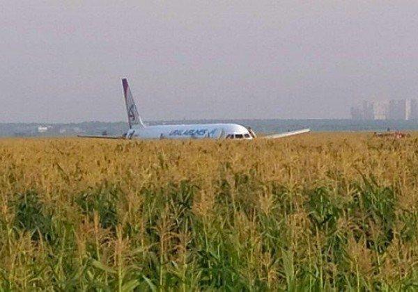 Появилось видео аварии Airbus 321, а пассажиры говорят о заговоре