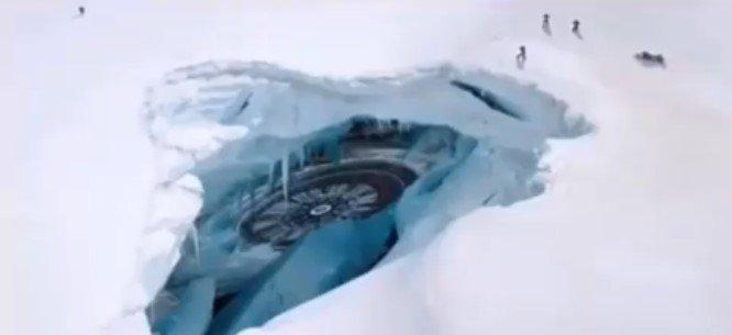 300-летний корабль Нибиру нашли в Антарктиде