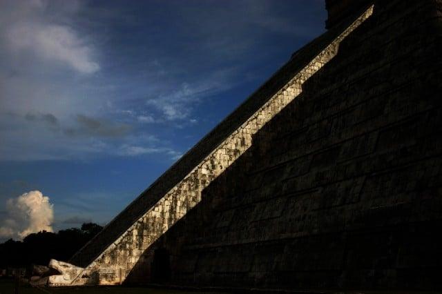 Пирамида Пернатого змея Кукулькан