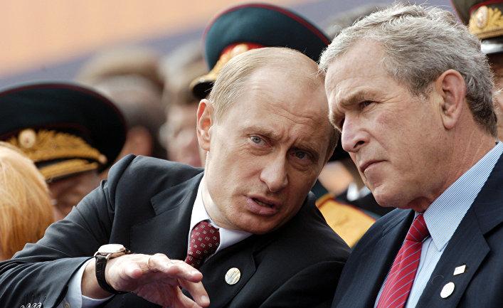 Путин, Буш
