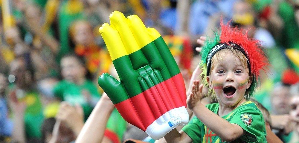 Накануне матча с Украиной у болельщиков Литвы отличное настроение
