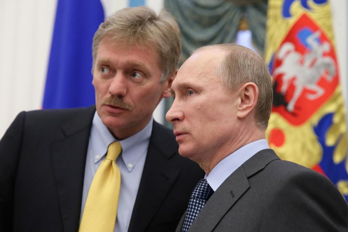 Путин, Песков