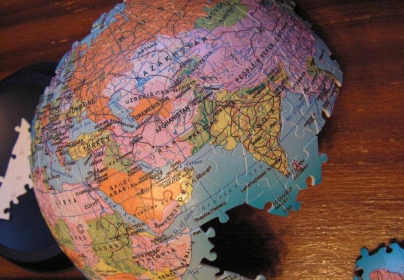 Новый мировой порядок, глобус