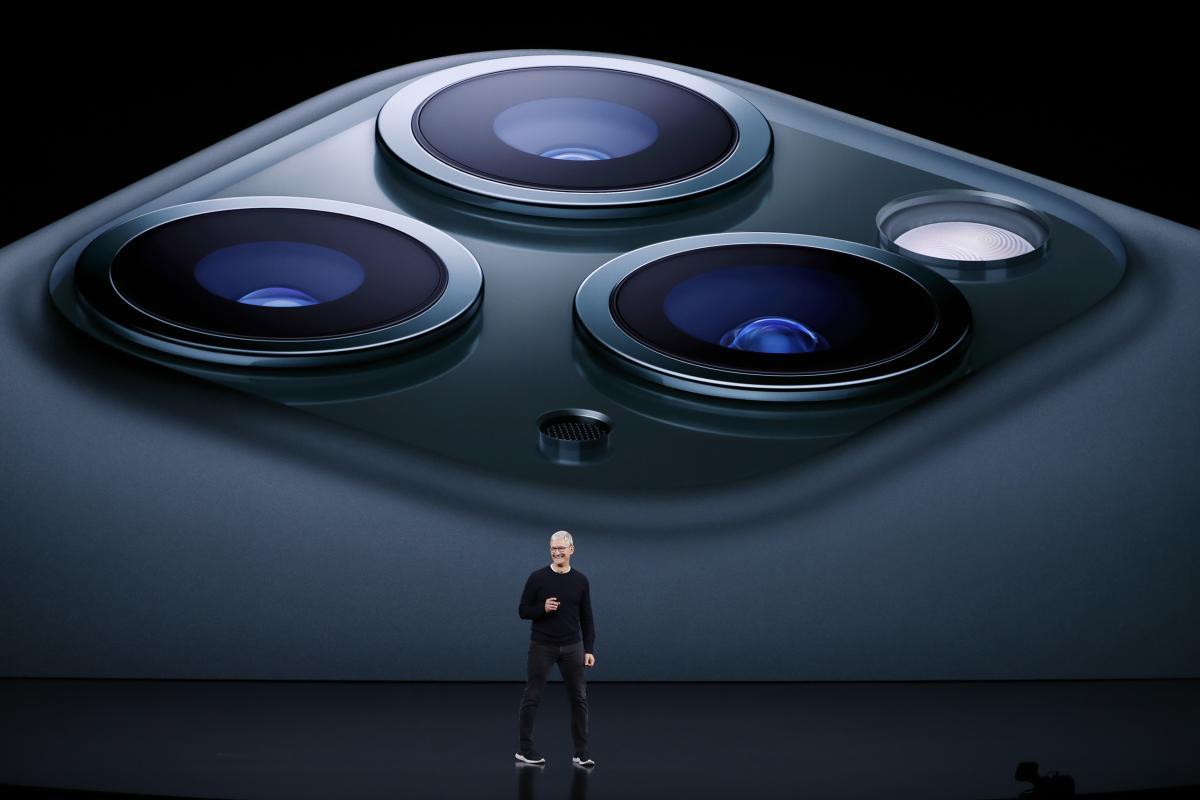 iPhone 11 Pro оснащен тремя камерами - Презентация apple 2019