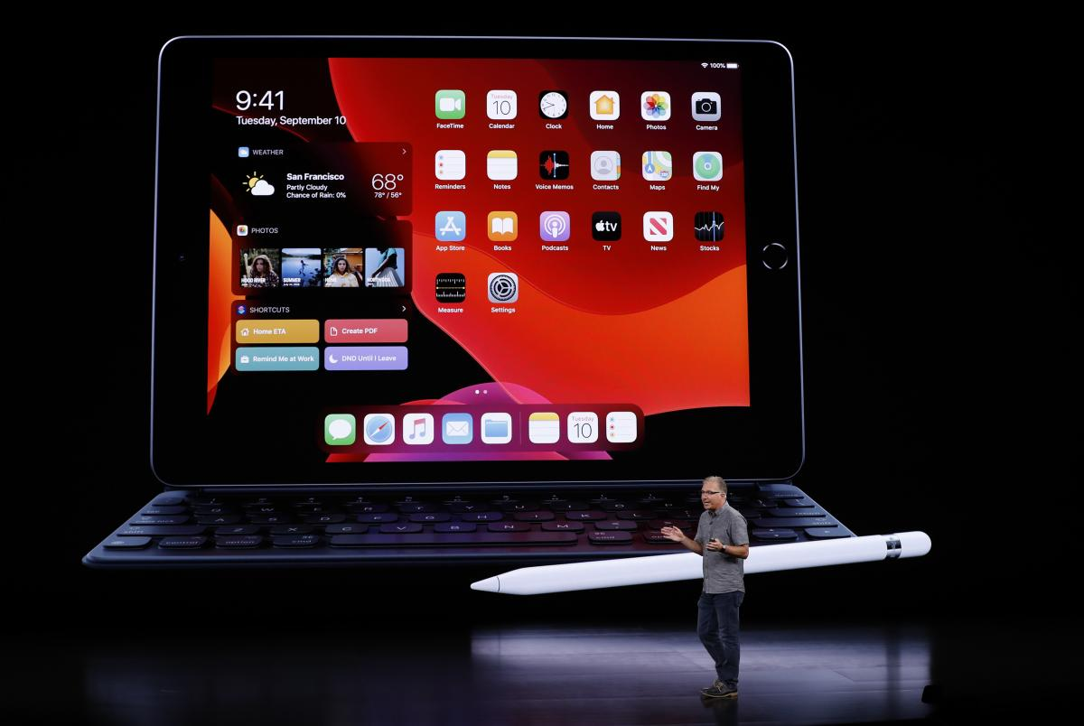 Apple показала новый iPad 2019 - Презентация Аpple 2019