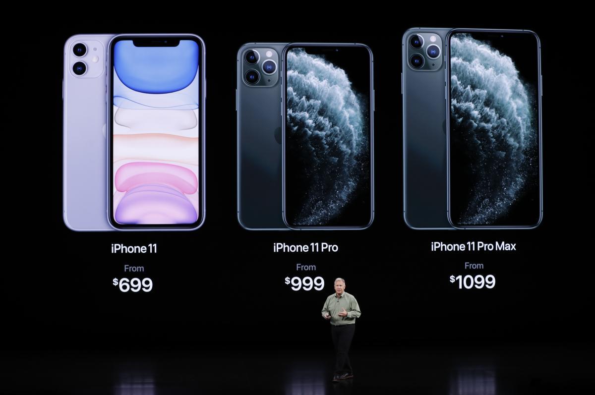 Цена iPhone 11 Pro Max стартует от 1099 долларов - Презентация Аpple 2019