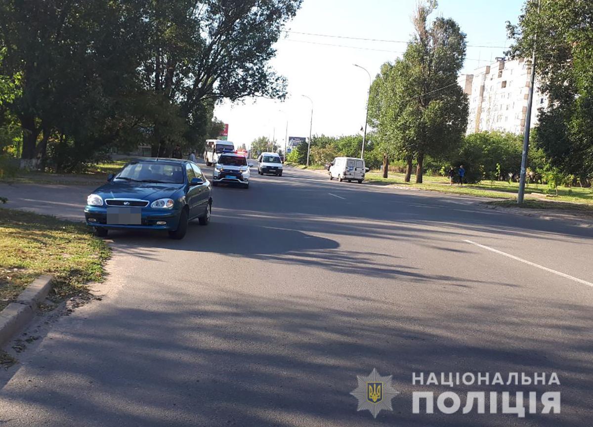 В Бердянске легковушка сбила девочек-сестер