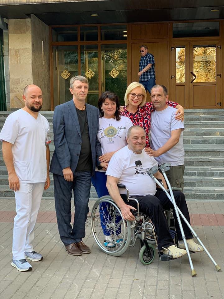 Денисова, пленники Кремля