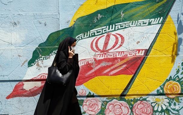 иранская болельщица