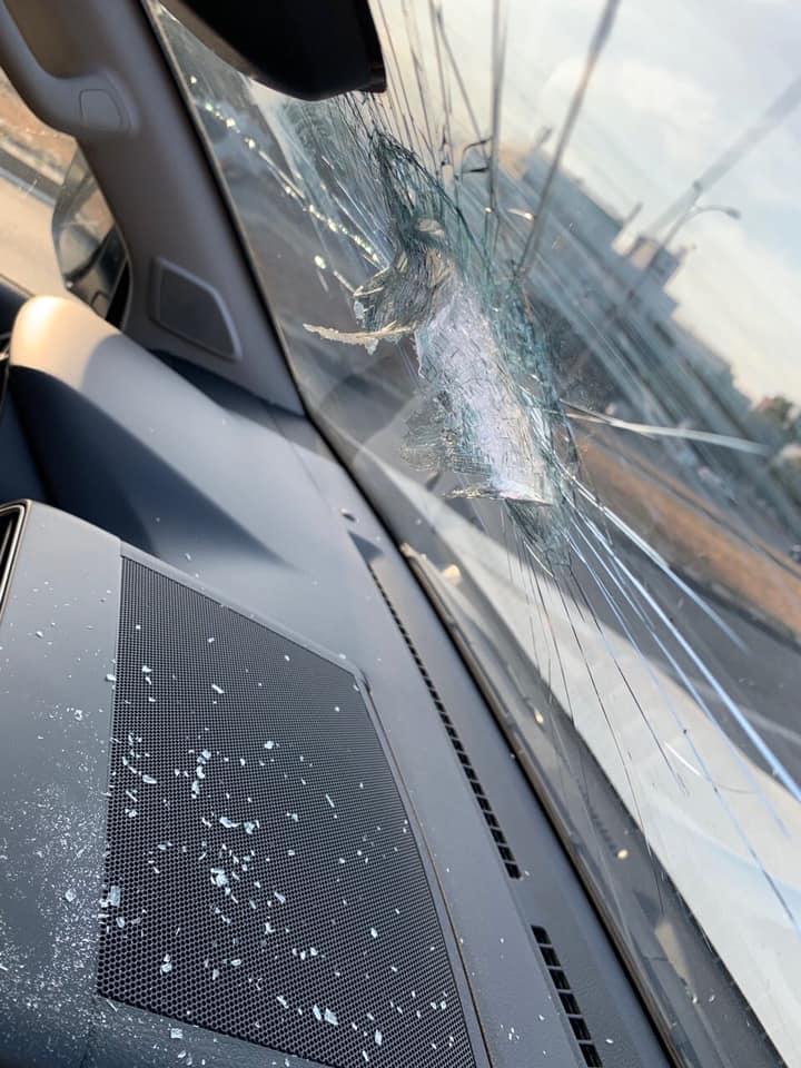 В Киеве еще один путепровод стал аварийным