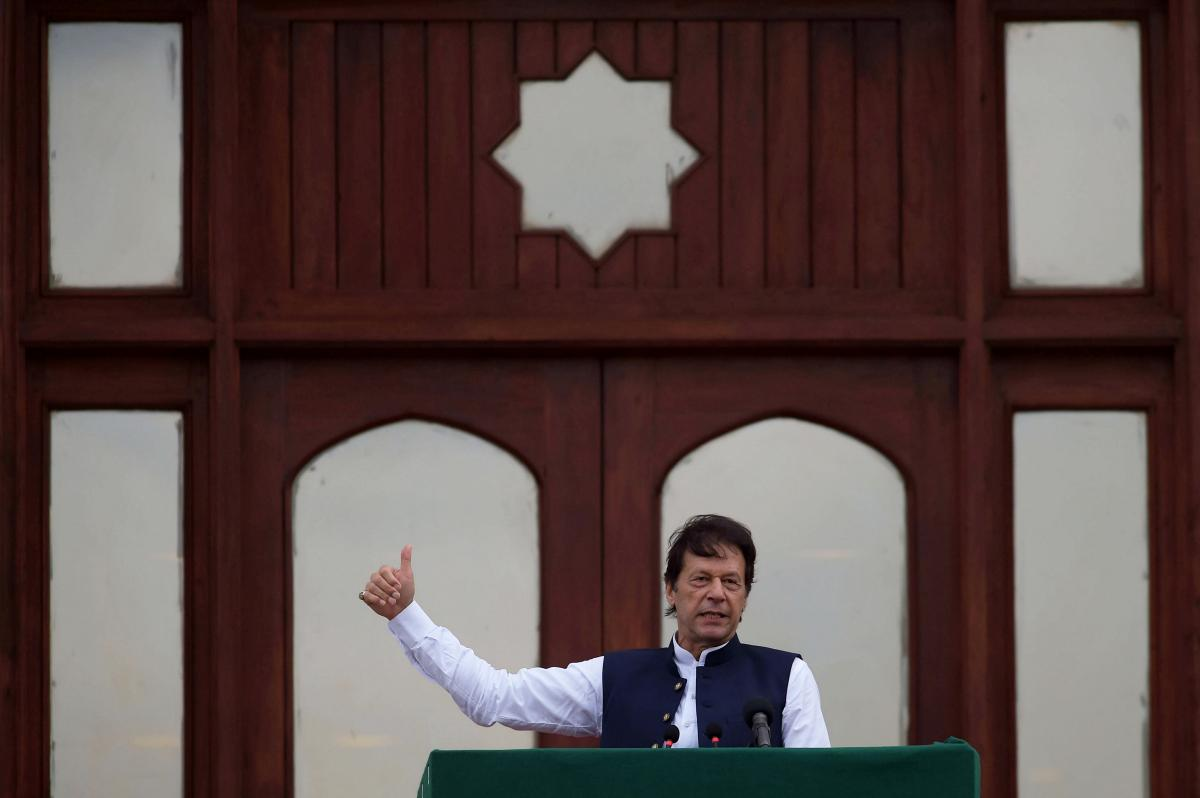 Премьер-министр Пакистана Имран Хан