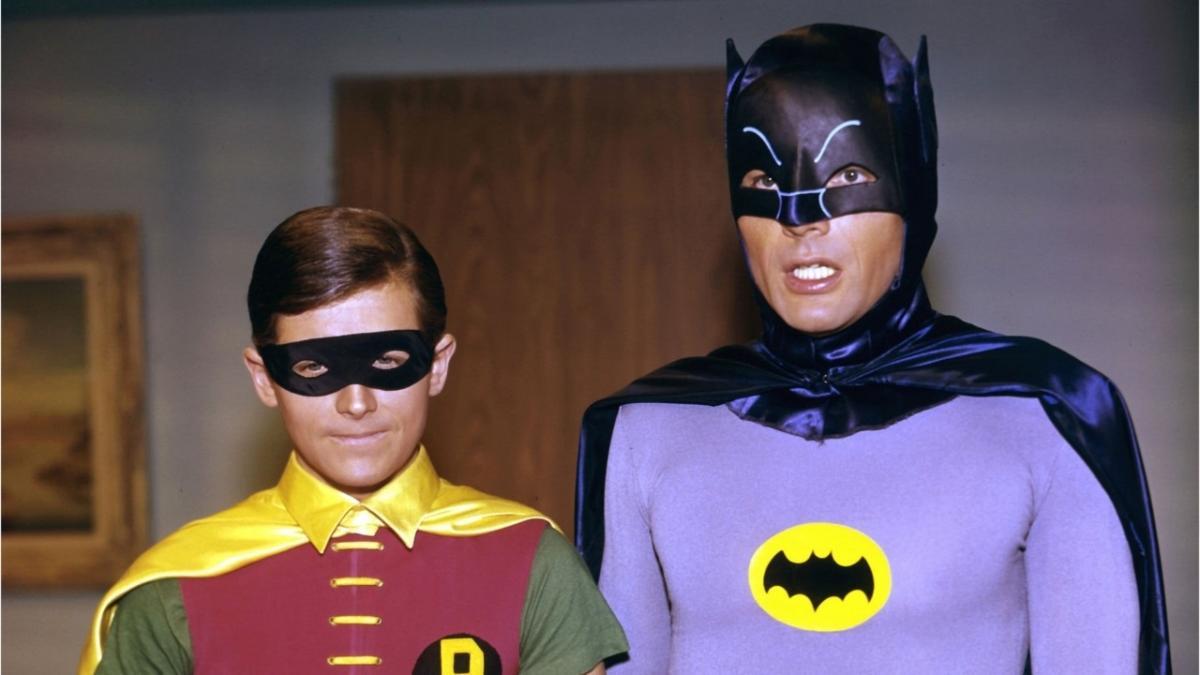 Адам Уэст в роли Бэтмена / Кадр из сериала канала ABC