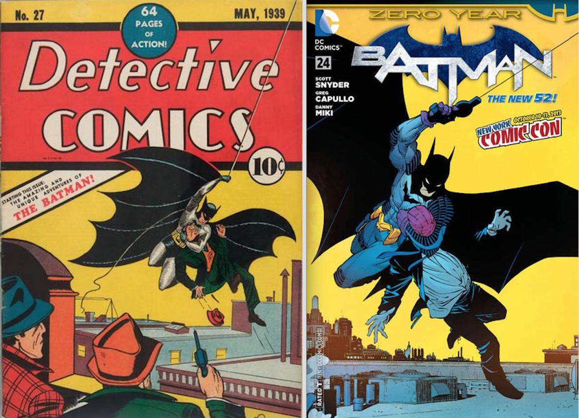 Ранние комиксы о Бэтмене / 13thDimension