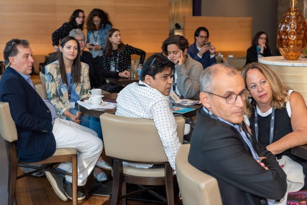 Участники Украинского делового завтрака в Торонто