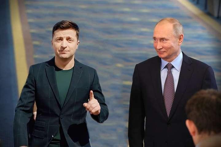 Эксперт сказал, что Владимир Путин не хочет встречаться с Владимиром Зеленским, потому что у главы Украины достаточно высокий рейтинг