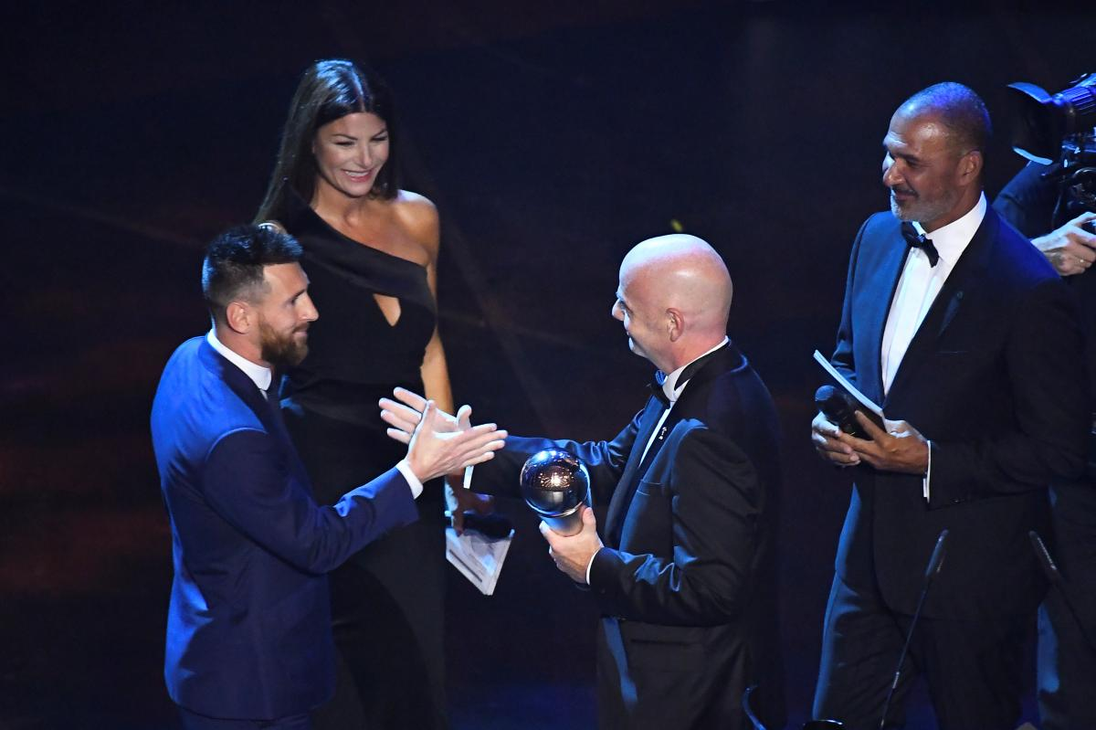 Месси стал лучшим игроком года по версии ФИФА