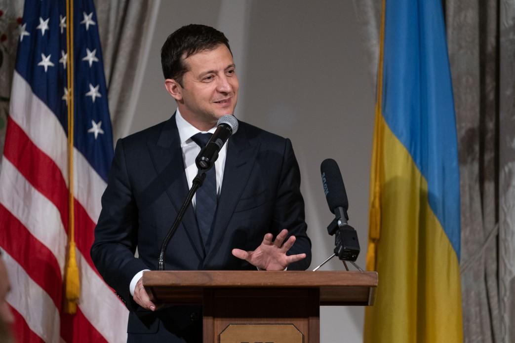 Владимир Зеленский в США