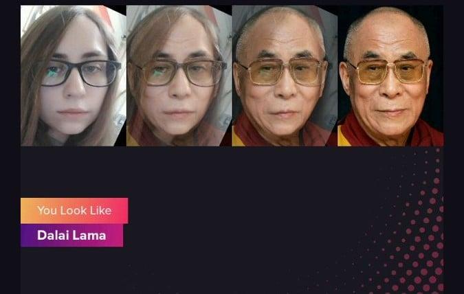 Приложение Gradient показывает, на кого из знаменитых людей вы похожи