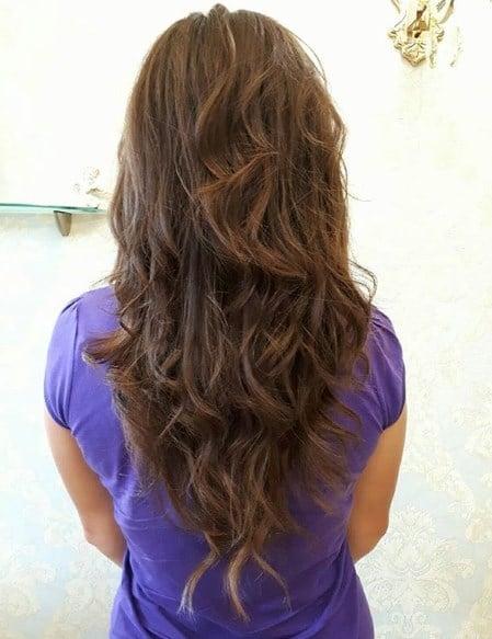 Модные стрижки на длинные волосы 2019-2020