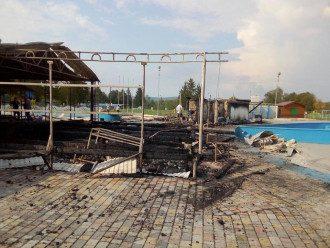Лагерь Сокол сгорел / скриншот