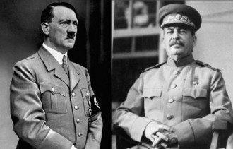 Гитлер Сталин