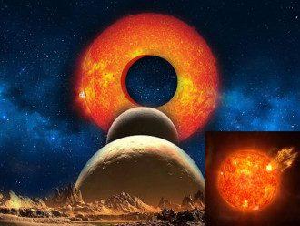 На Солнце образовалась дырища / vladtime.ru
