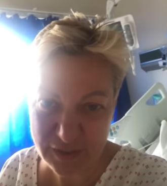 Валерия Гонтарева в госпитале показала свое инвалидное кресло и костыли - Гонтарева новости