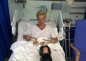 Гонтарева в больнице в Лондоне