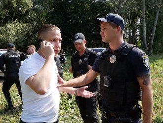 В Белой Церкви прокурор устроил пьяные разборки с полицией