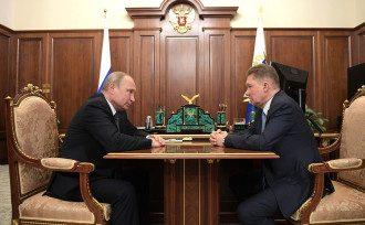 Владимир Путин, Алексей Миллер