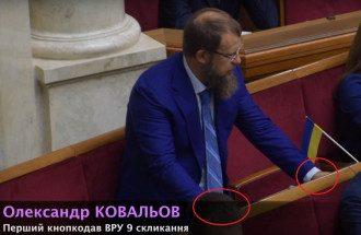 Александр Ковалев угрожал журналисту, который поймал его на кнопкодавстве