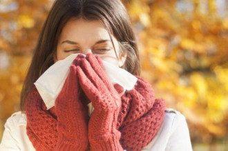 осень, простуда, болезнь