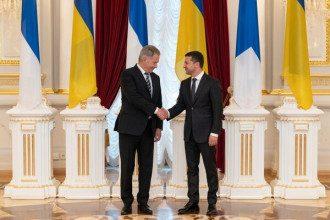 Владимир Зеленский и Саули Ниинистё обсудили Донбасс и борьбу с Путиным