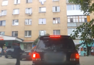 В Сумах нарушительница прокляла полицейских - Новости Сум