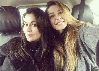 Анна Заворотнюк и Анастасия Заворотнюк