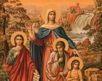 Вера, Надежда, Любовь и мать их София – дата, приметы, молитва