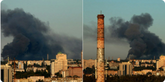 В Донецке на складе боеприпасов произошел взрыв / twitter.com/hochu_dodomu