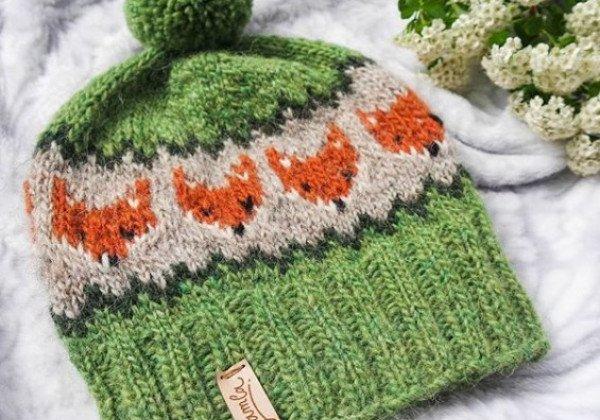 Модные вязанные шапки 2019-2020