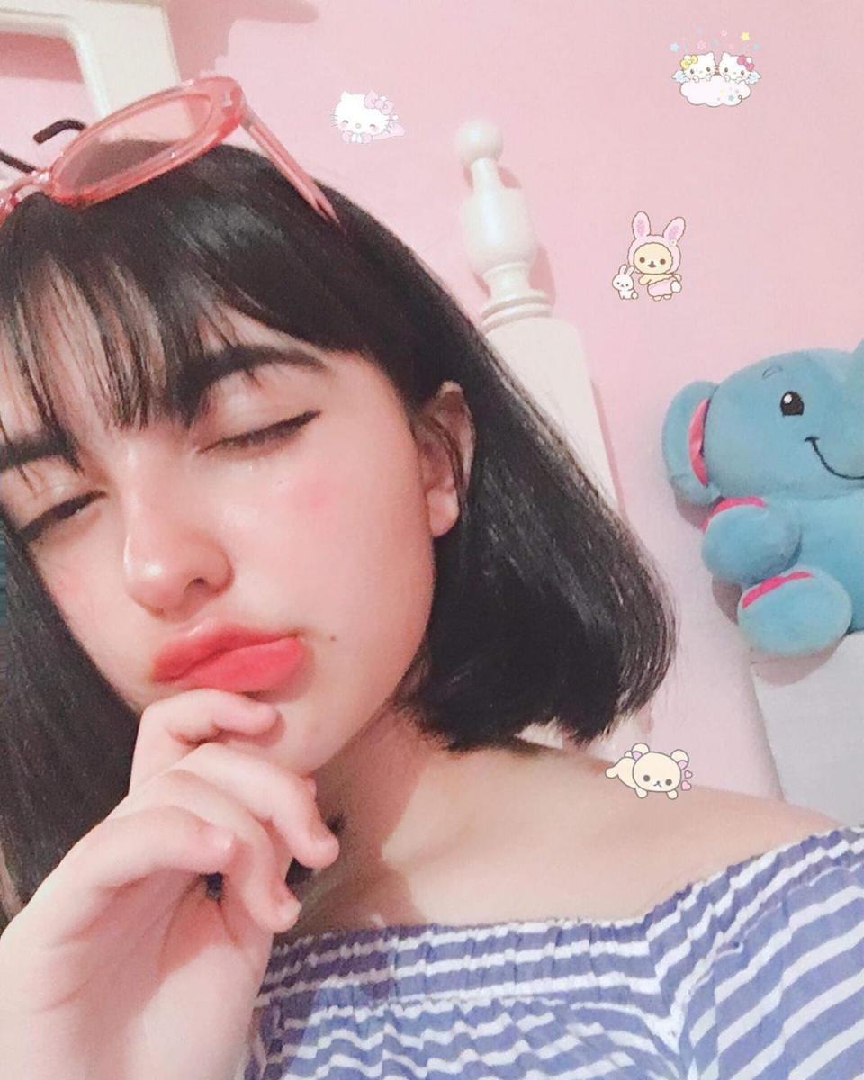 Вариант корейского макияжа в школу / instagram.com