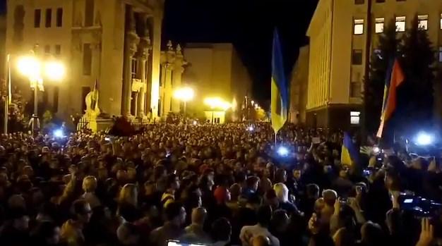 Под Офисом президента собрались активисты