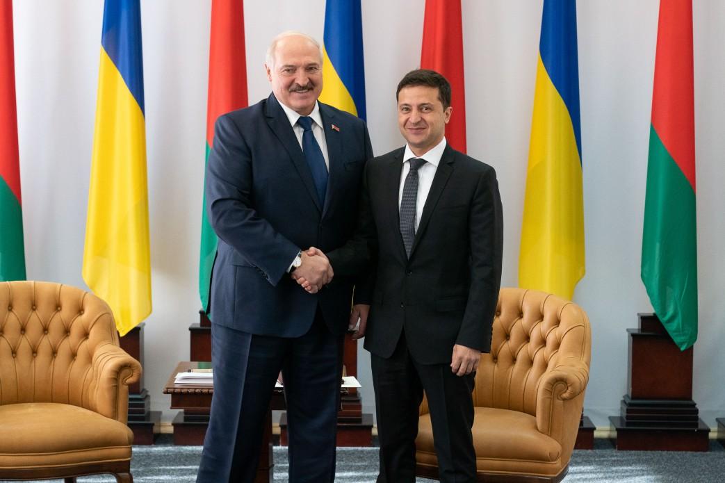 Зеленський, Лукашенко