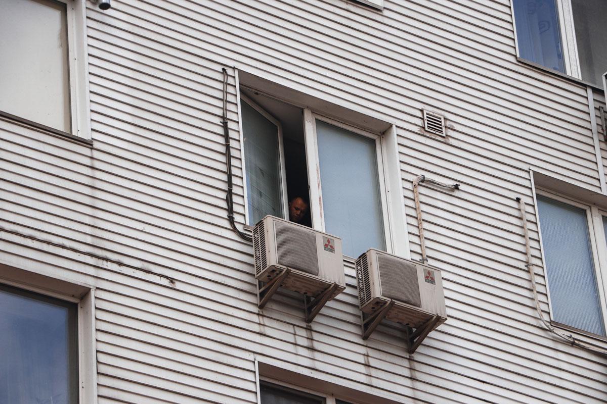 Трагедия произошла на ул.Тычины в Киеве