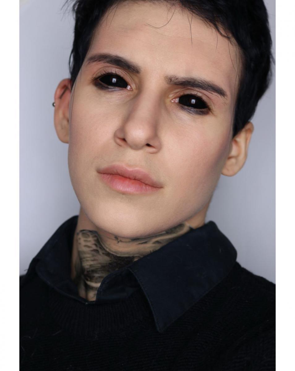 Макияж Хэллоуин 2019 мужской