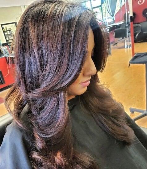 Модные стрижки на средние волосы 2020-2021: топ новинок средних ...   546x476