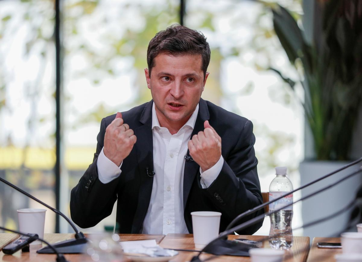 Зеленский попросил Штайнмайера о скорейшей встрече в «нормандском формате»