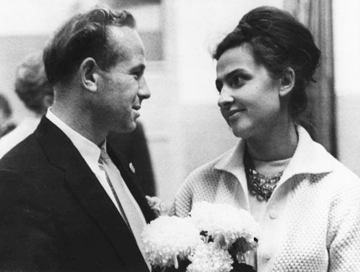 Алексей Леонов и жена Светлана