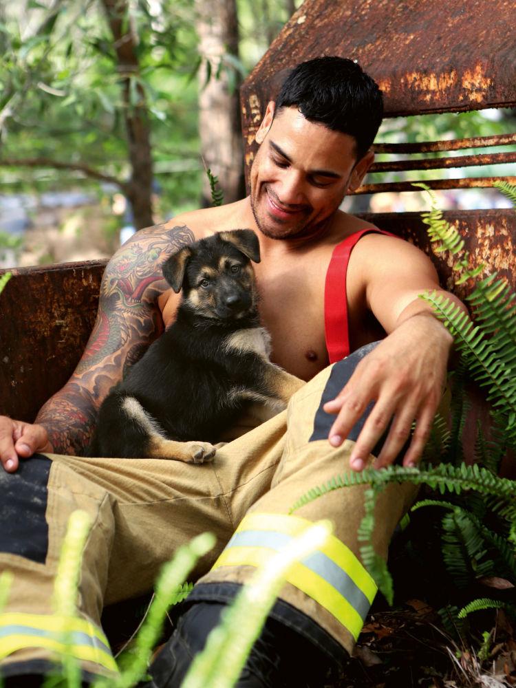 Австралийские пожарные